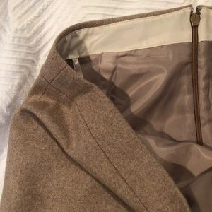 JCREW Sand/Taupe Pencil Skirt